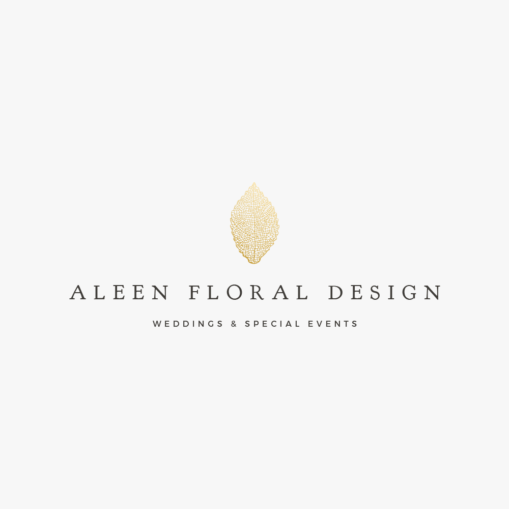 Custom logo design for florist.