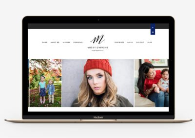 Misty Enright Photography Rebrand